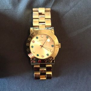 Marc by Marc Jacobs Gold Watch